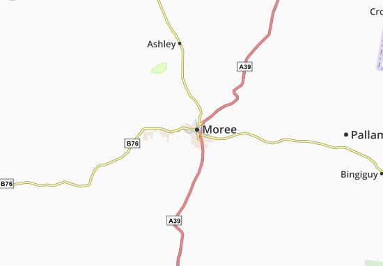 Moree Map