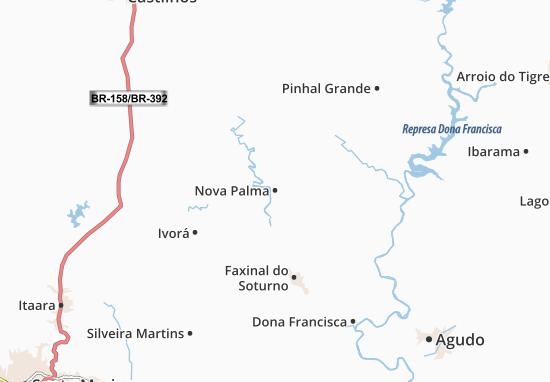Mapas-Planos Nova Palma