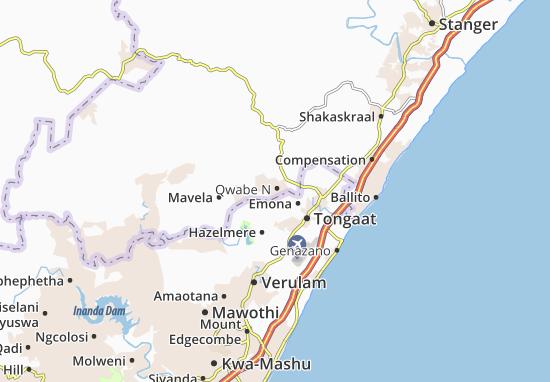 Qwabe N Map