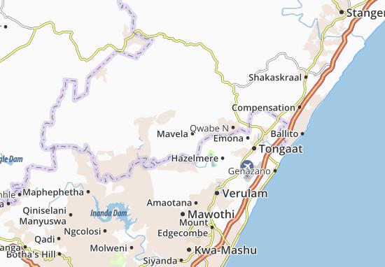 Mavela Map