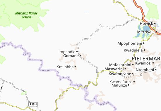 Gomane Map