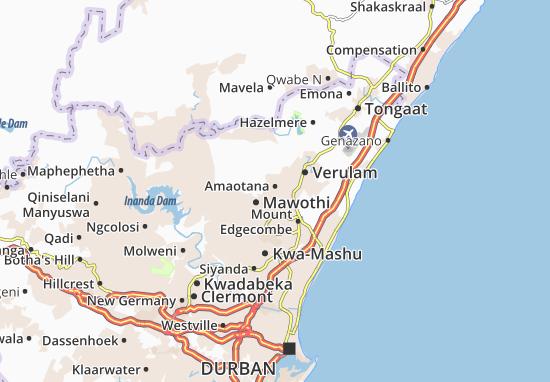 Amaotana Map