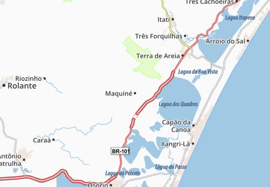Maquiné Map