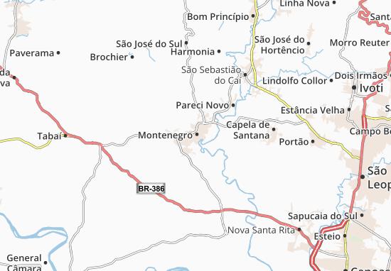 Mapas-Planos Montenegro