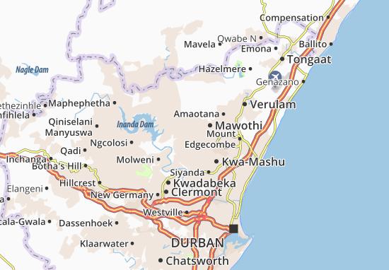 Carte-Plan Africa