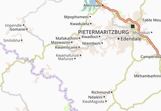 Kwamafunze Map