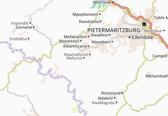 Mafunze Map