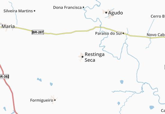Restinga Seca Map