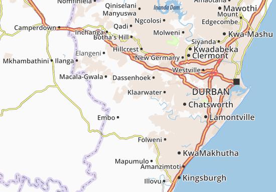 Mangangeni Map