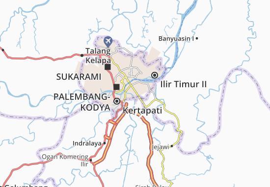 Seberang Ulu I Map