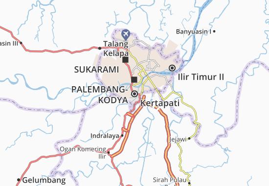 Kertapati Map