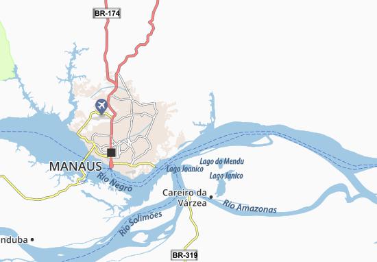 Puraquequara Map: Detailed maps for the city of Puraquequara ...
