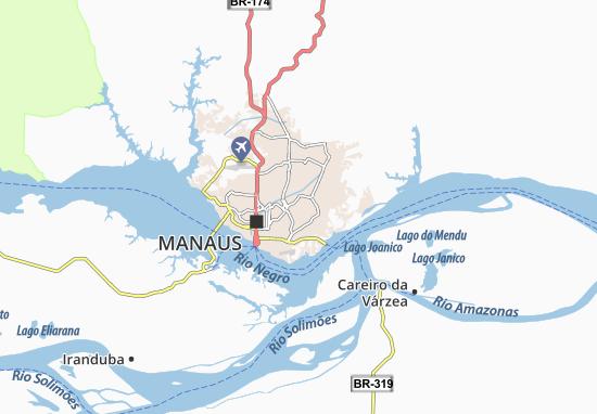 Map of Coroado - Michelin Coroado map - ViaMichelin