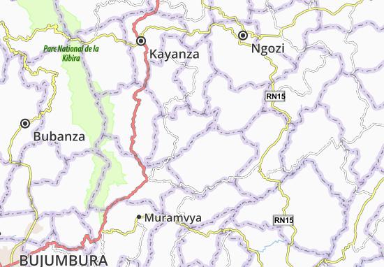 Butaganzwa Map