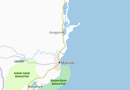 Malindi Cartina Geografica.Mappa Mambrui Cartina Mambrui Viamichelin