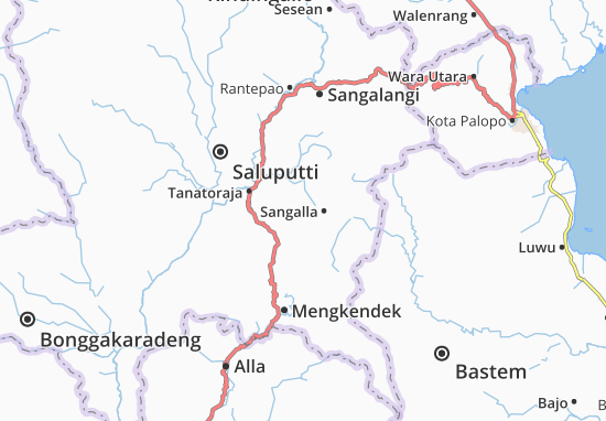 Sangalla Map