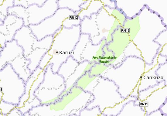 Mapa Plano Mwakiro