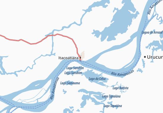 Itacoatiara Map