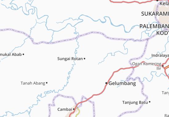 Sungai Rotan Map