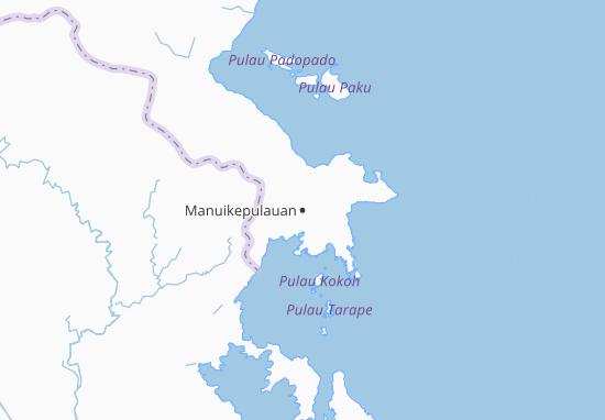 Manuikepulauan Map