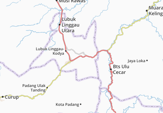 Lubuk Linggau Timur Map