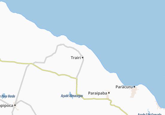 Trairi Map