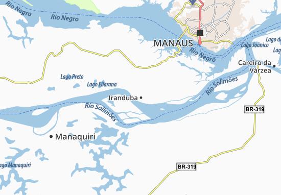 Mapas-Planos Iranduba