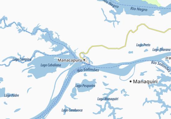 Mapas-Planos Manacapuru