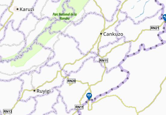 Bweru Map