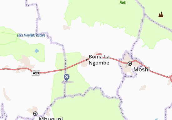 Kaart Plattegrond Boma La Ngombe