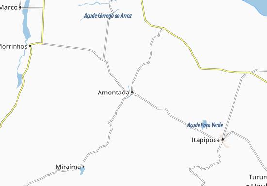 Mappe-Piantine Amontada
