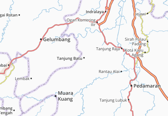Tanjung Batu Map