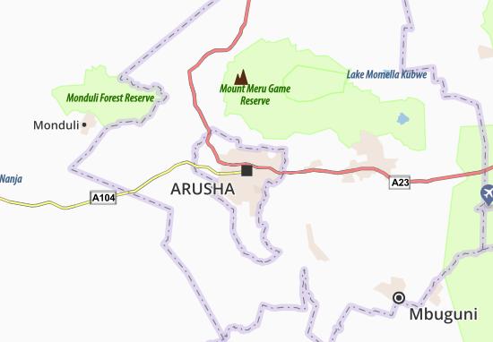 Mapas-Planos Arusha