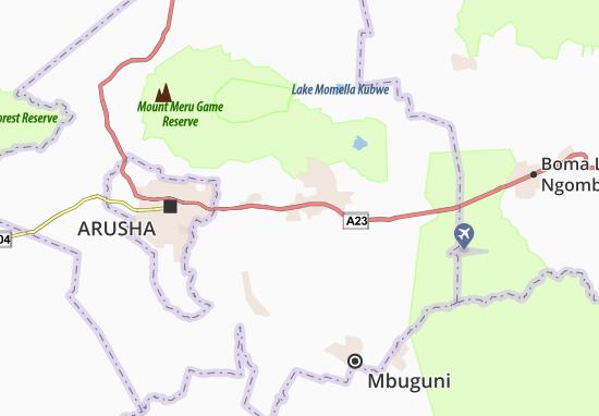kaart van usa river- plattegrond van usa river- viamichelin