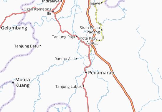 Rantau Alai Map