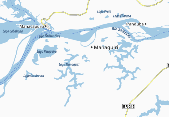 Manaquiri Map