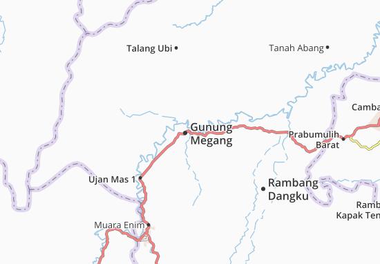 Mappe-Piantine Gunung Megang