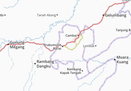 Mappe-Piantine Prabumulih Barat