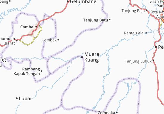 Muara Kuang Map