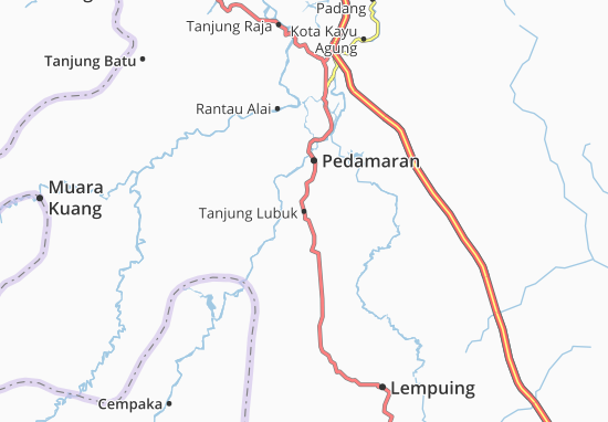 Tanjung Lubuk Map