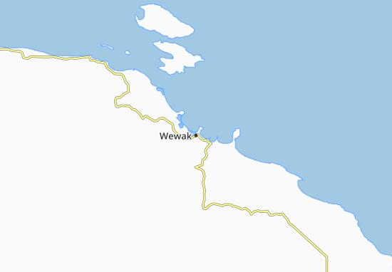 Mapa Plano Wewak