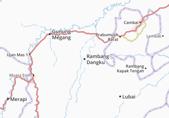 Rambang Dangku Map