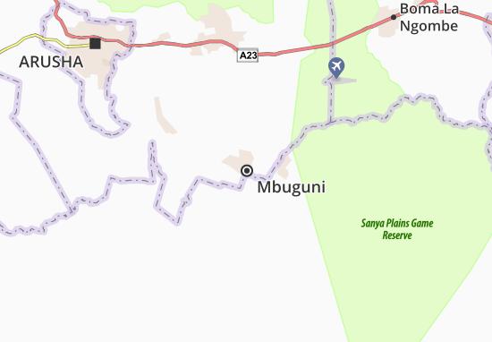 Mapas-Planos Mbuguni