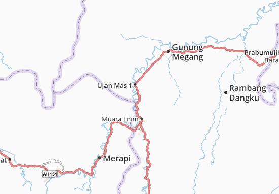 Ujan Mas 1 Map