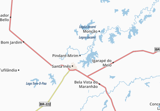 Carte-Plan Pindaré-Mirim