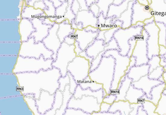 Mapa Plano Baziro