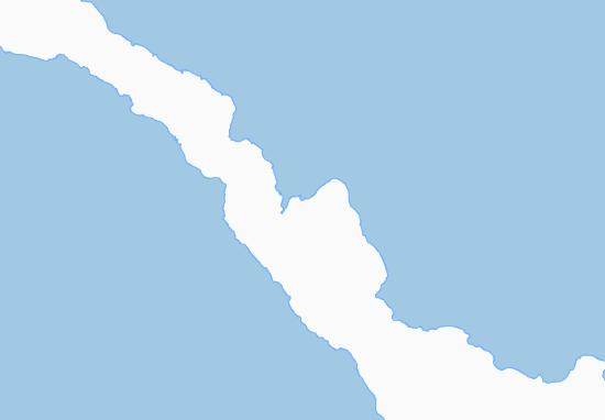 Mapa Plano Namatanai