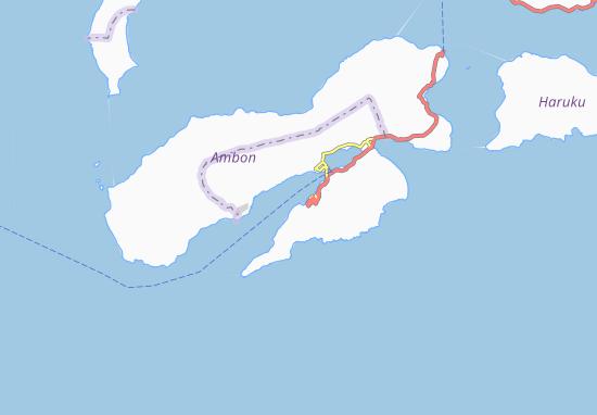 Carte-Plan Ambon