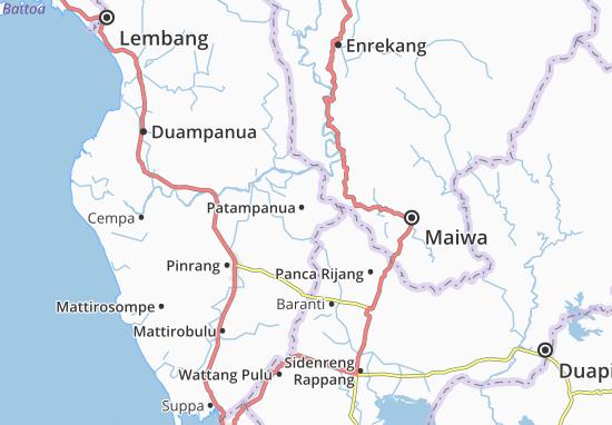 Carte-Plan Patampanua