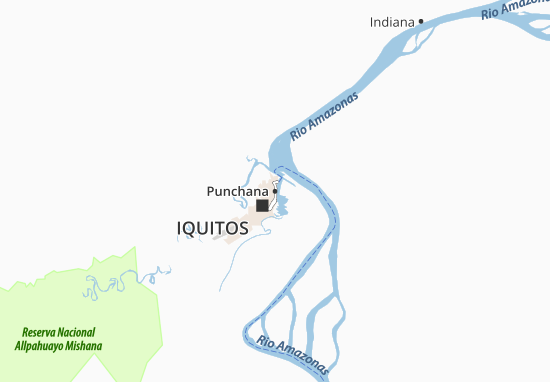 Punchana Map